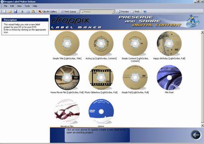 droppix label maker deluxe