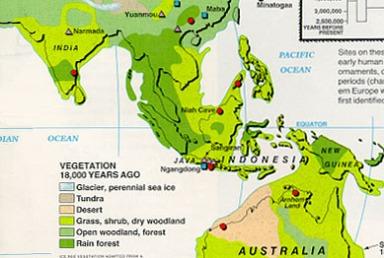 Taburan Tamadun Atlantis di Asia Tenggara