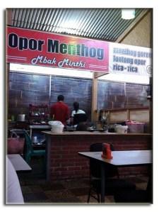 Mbak Minthi Spesialis Masakan Menthog