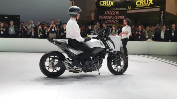 Honda Riding Assist Technology